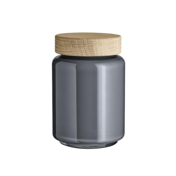 Palet Storage Jar 0.7 l by Holmegaard in Dark Grey