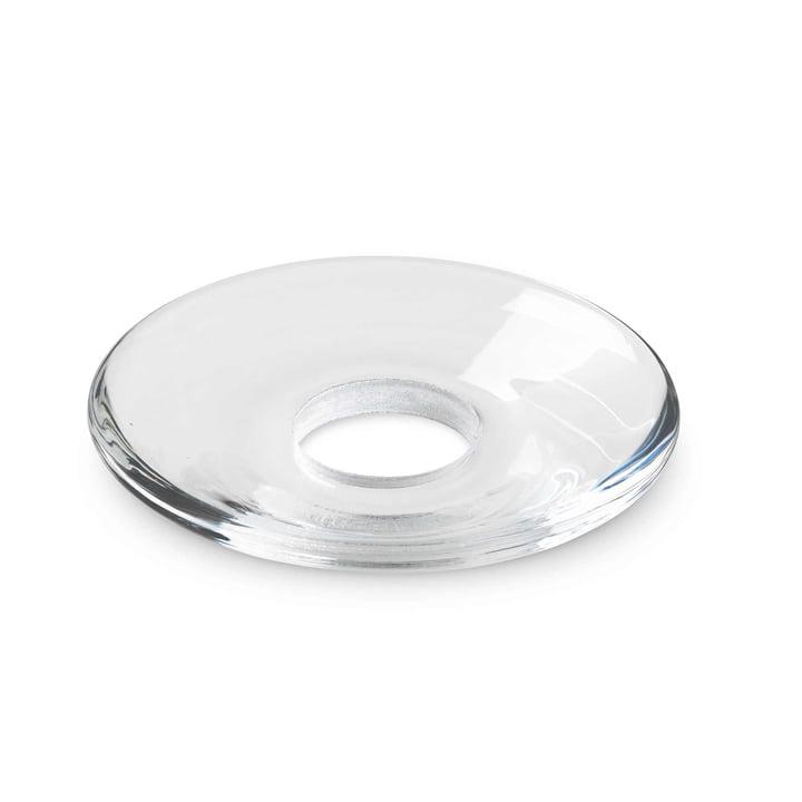 Holmegaard - Lumi Glass Collars flat, clear