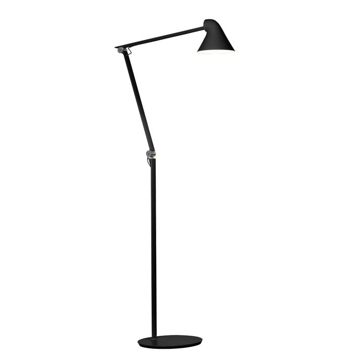 Louis Poulsen - NJP LED floor lamp, black