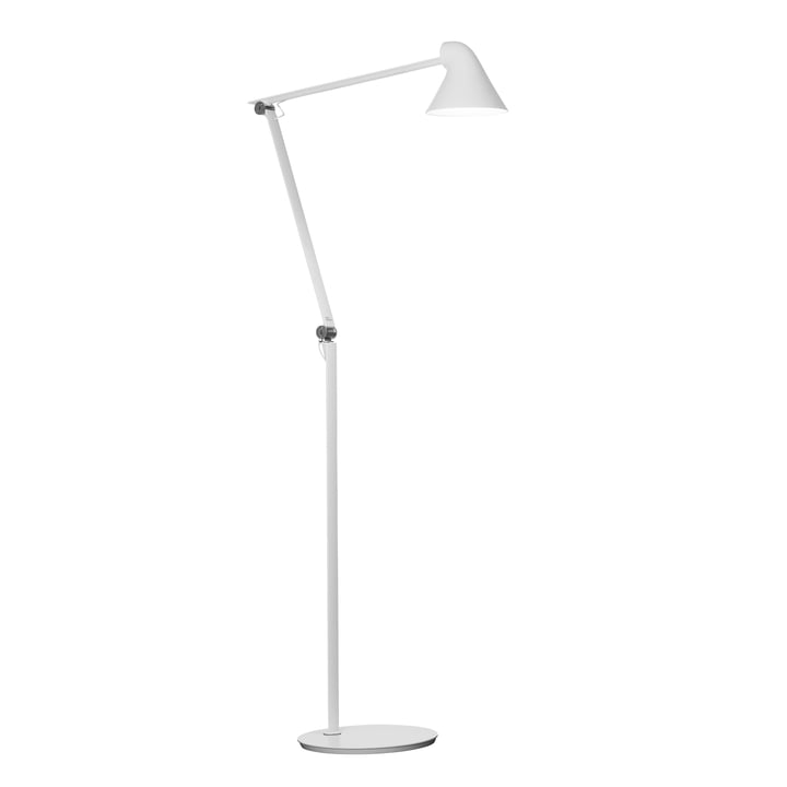 NJP LED floor lamp by Louis Poulsen in white