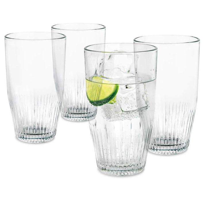 Set of 4 Water Glass 38 cl by Rosendahl