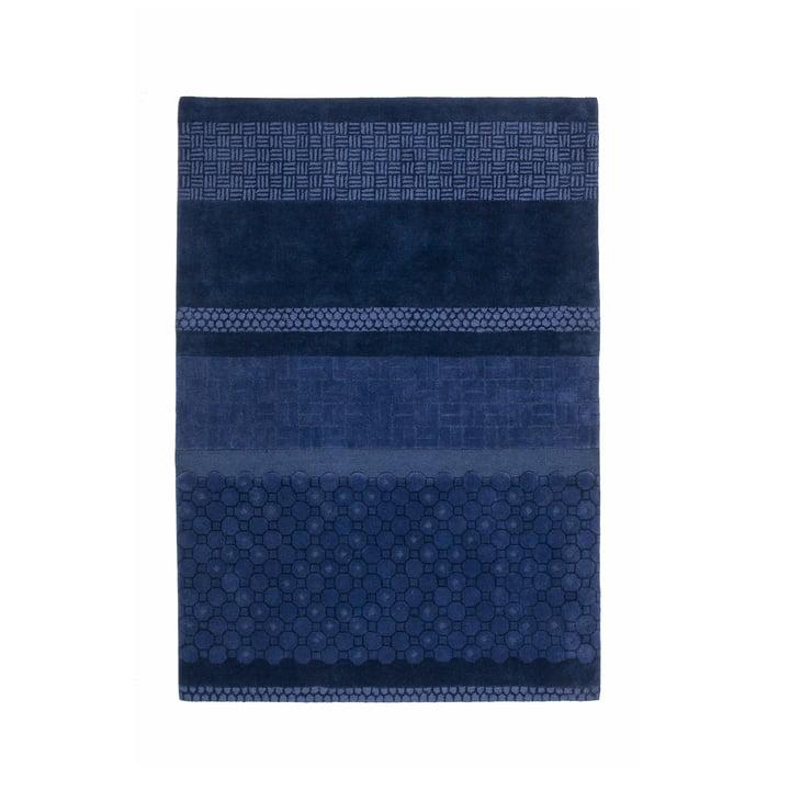 nanimarquina - Jie Rug 170x240 cm, blue