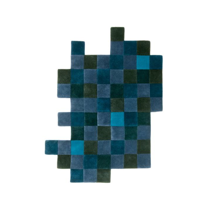 Do-Lo-Rez 2 207 x 253 cm by nanimarquina in blue