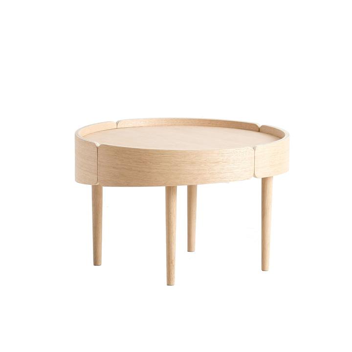 Skirt Coffee Table Ø 60 cm by Woud in oak