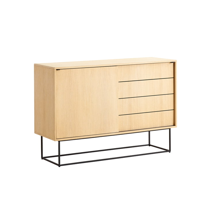 Virka Sideboard High by Woud in oak