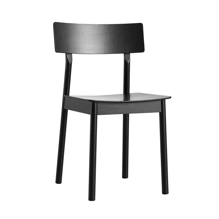 Pause Dining Chair from Woud in black