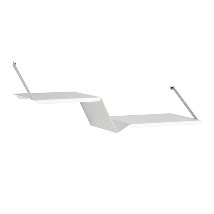 Fold Shelf by Woud in White