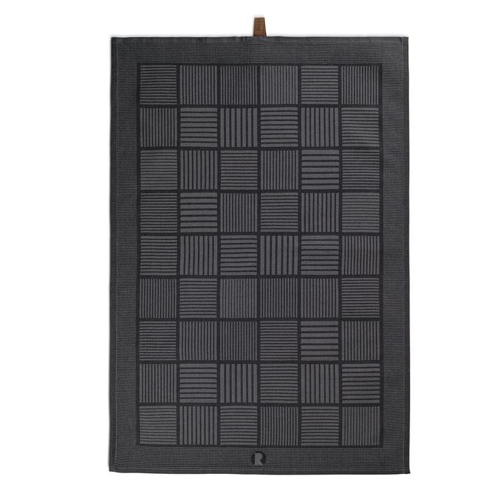 Nanna Ditzel Tea Towel 50x70 cm by Rosendahl in black