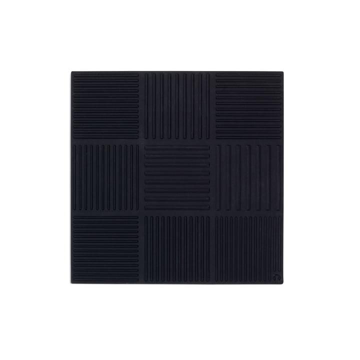 Nanna Ditzel Trivet 18 x 18 cm by Rosendahl in Black