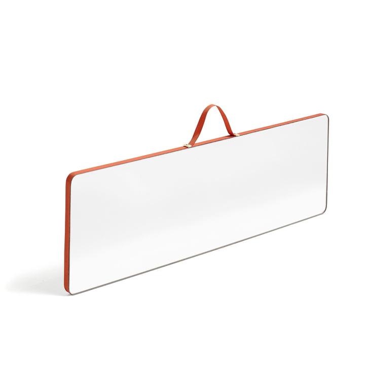 Hay - Ruban Mirror rectangular L, red