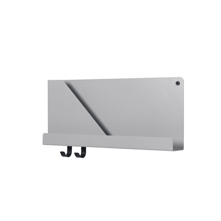 Small Folded Shelve 51 x 22 cm from Muuto in grey