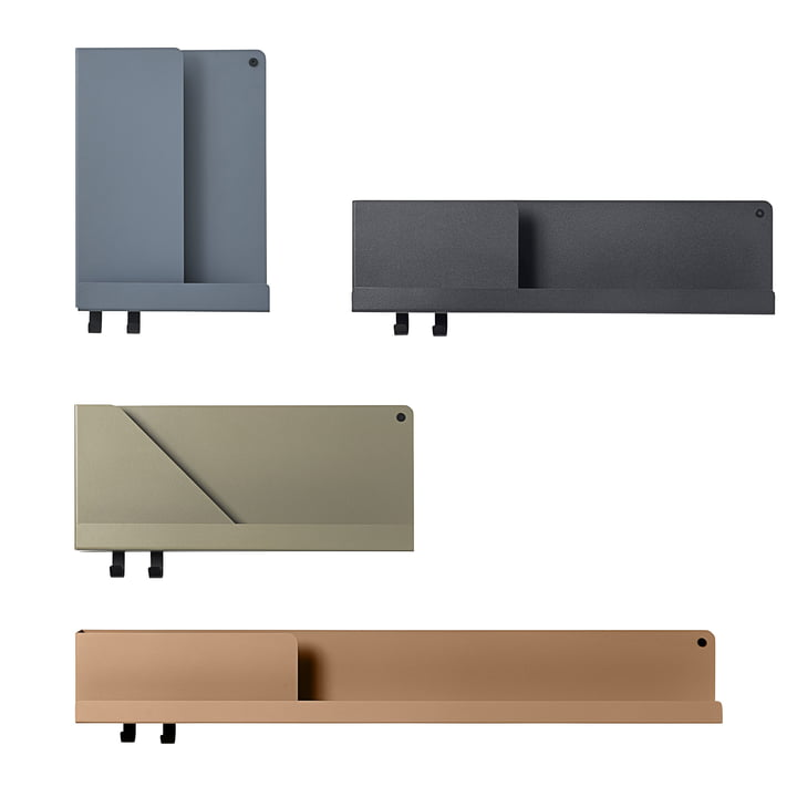 Folded shelf in three sizes