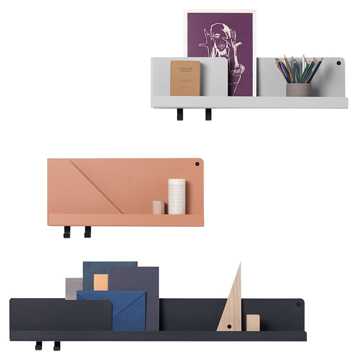 Folded Shelf by Muuto in the Office