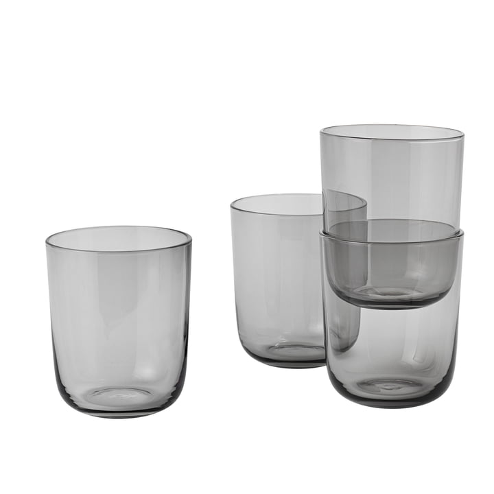 Corky Tumbler (set of 4) Tall by Muuto in grey