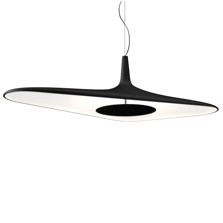Soleil Noir Pendant Lamp by Luceplan in Black / White