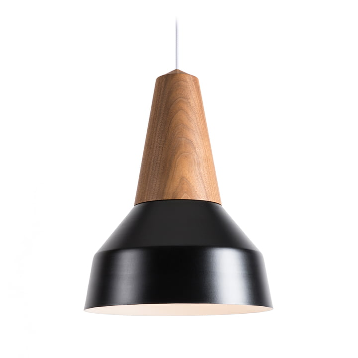 The Schneid - Eikon Basic Pendant Lamp in walnut / black