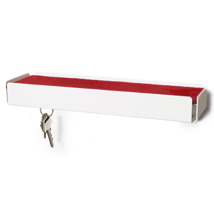 SL35 Key-Box Keybox by Konstantin Slawinski in white / felt red