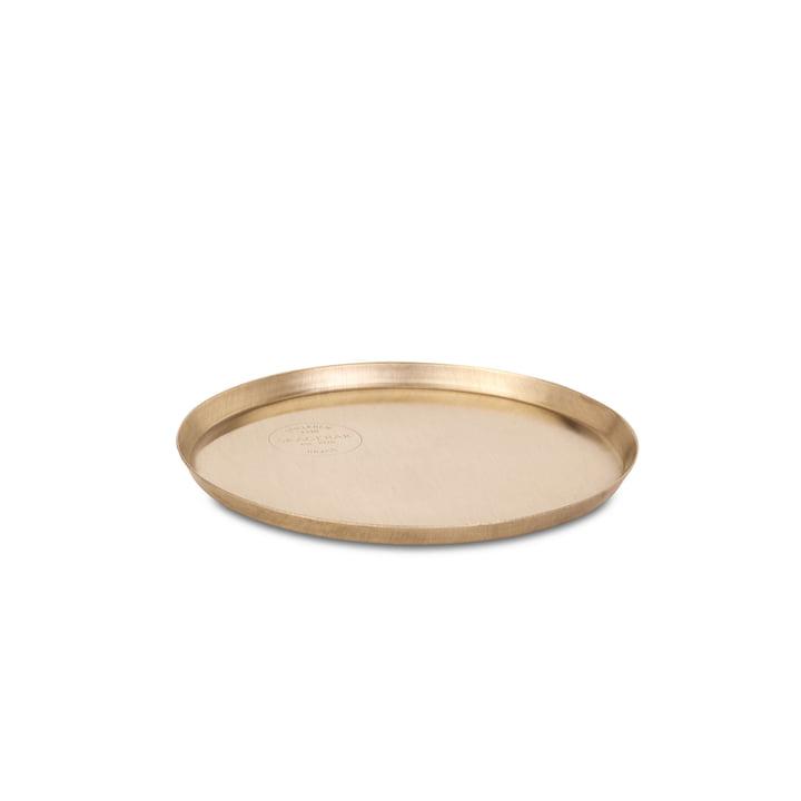 Edge Plate Ø 18 cm from Skagerak made of brass