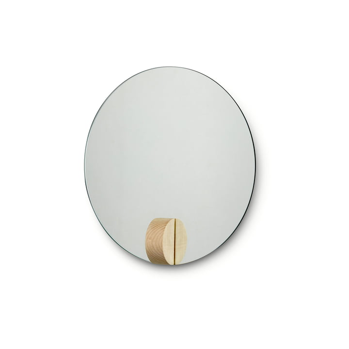 Fullmoon Mirror Ø 30 cm from Skagerak in ash wood