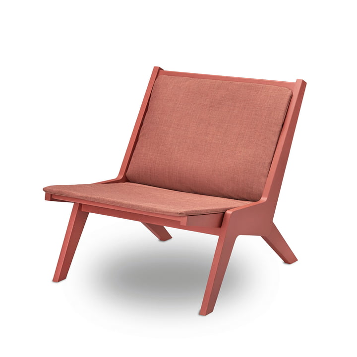 Miskito Lounge Chair by Skagerak in Scarlet Red