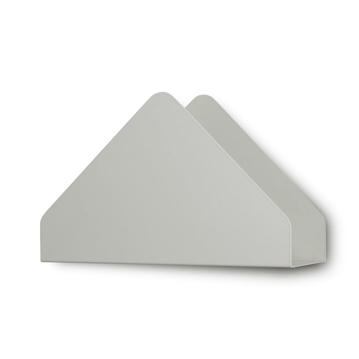 Kuvert Shelf by Skagerak in silver white