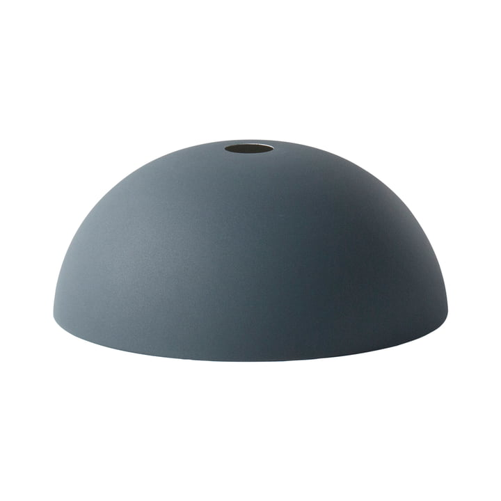 Dome Shade Lampshade by ferm Living in dark blue