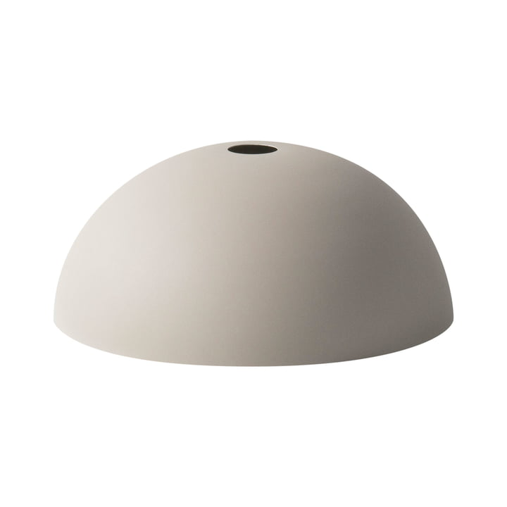 Dome Shade Lampshade by ferm Living in light grey