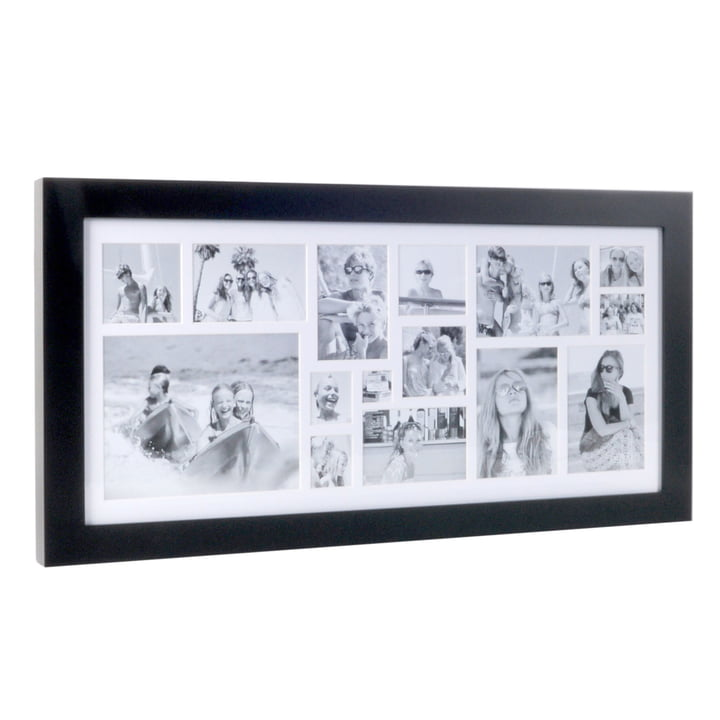 Multi Photo frame for 15 pictures of XLBoom in Coffee Bean