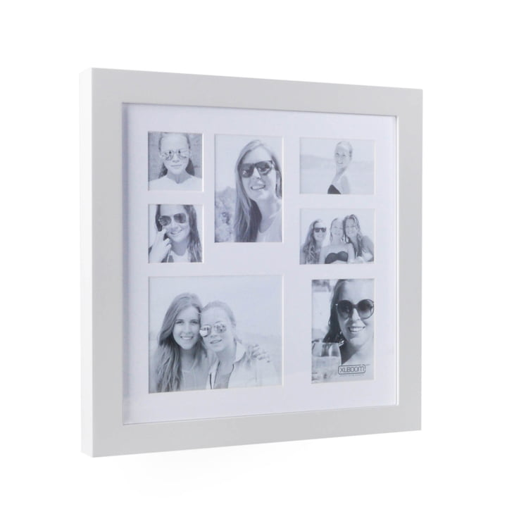 Image Frame Multi Photo for 7 Photos by XLBoom in white