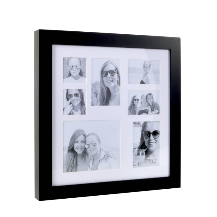 Multi Photo frame for 7 pictures of XLBoom in Coffee Bean