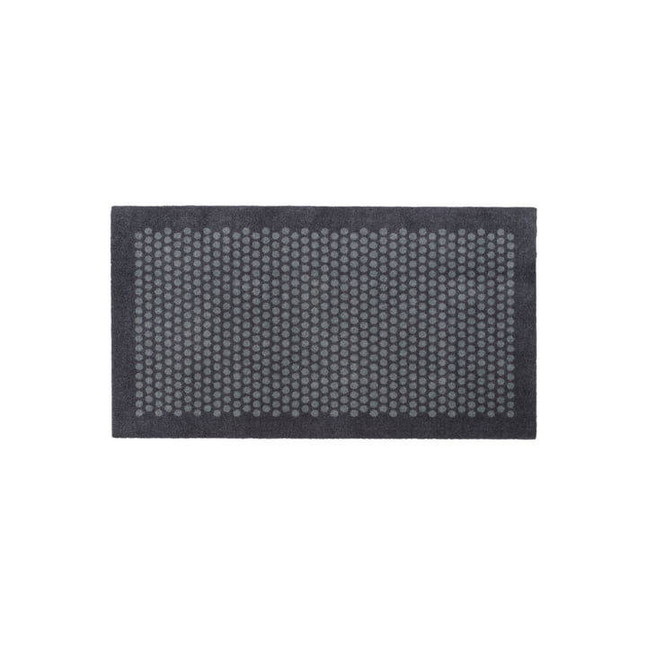 Dot doormat 67 x 120 cm from tica copenhagen in grey