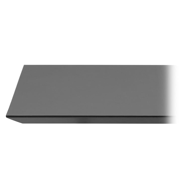 Mingle Table Top linoleum by ferm Living in black