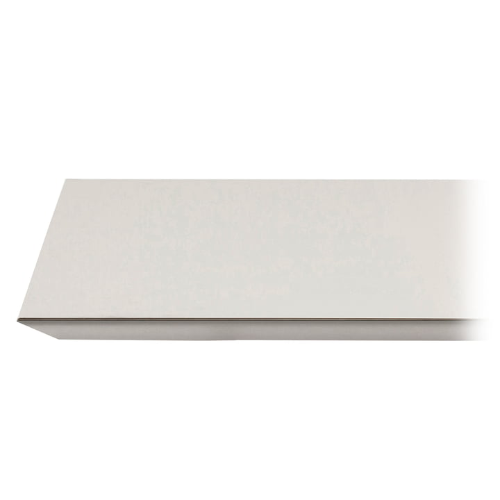 Mingle Table Top Linoleum by ferm Living in light grey