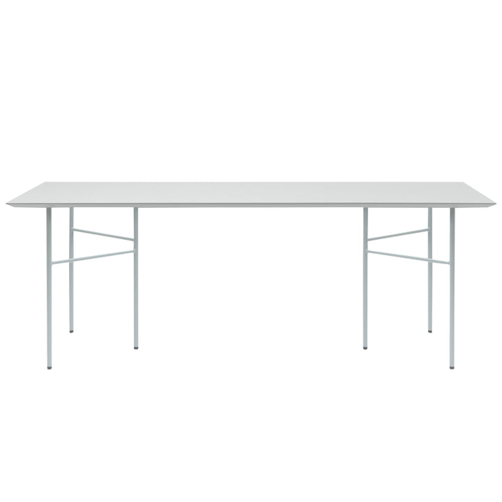 Mingle Table Top Linoleum and Trestle by ferm Living