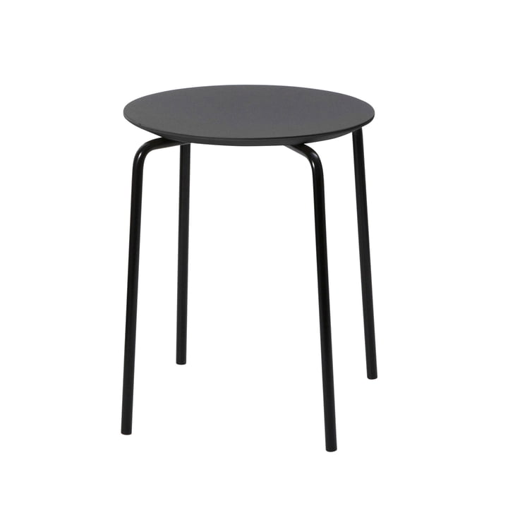 Herman Stool by ferm Living in black