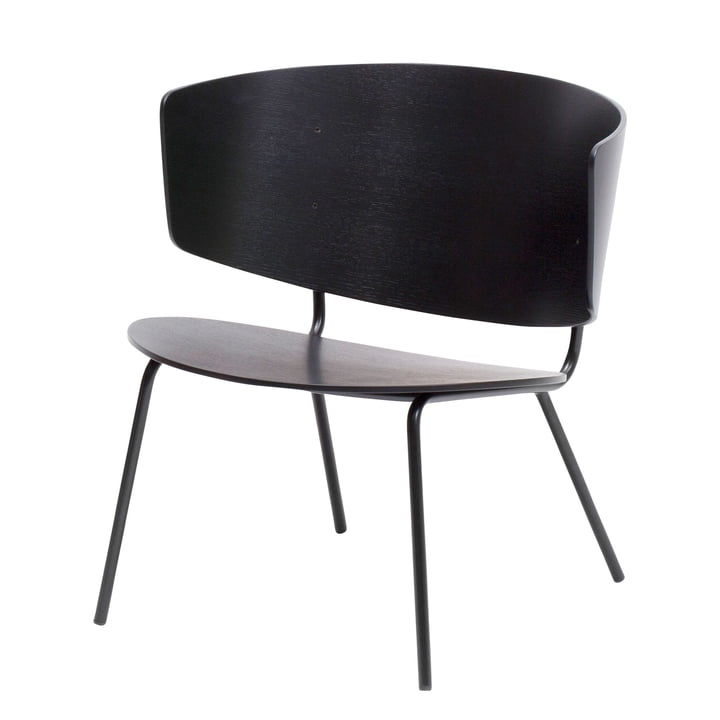 Herman Lounge Chair by ferm Living in black