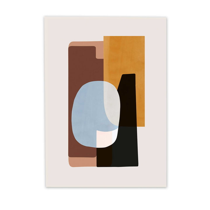 Abstraction Poster 1 by ferm Living