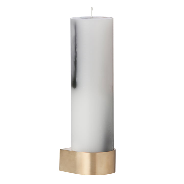 Block candleholder large by ferm living
