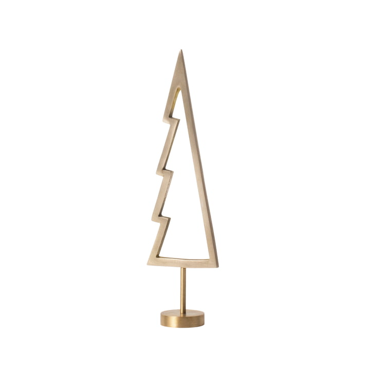 Winterland Brass Tree Outline from ferm Living