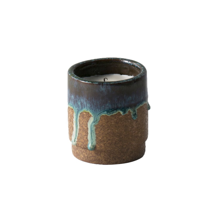 Scented Candle by ferm Living in Running Blue