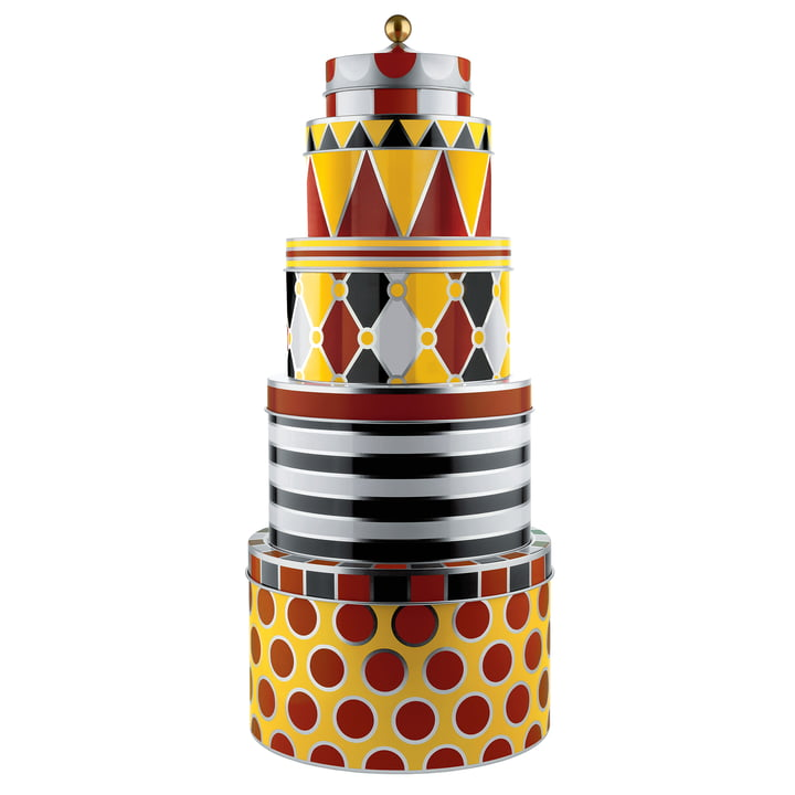Circus All-Purpose boxes by Alessi