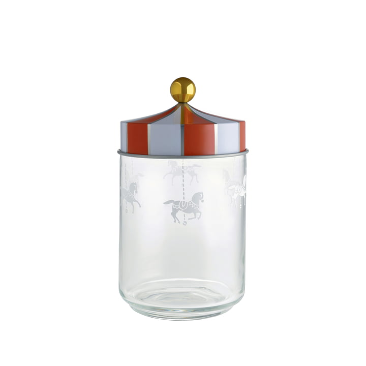 Circus Kitchen Storage Jar 100 cl by Alessi