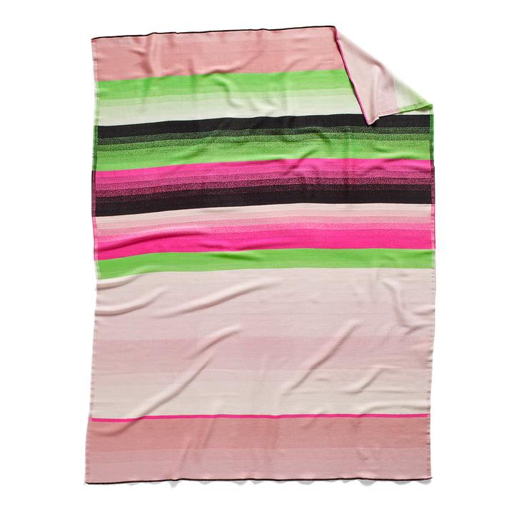 Colour Plaid Woolen Blanket colour: No. 4 by Hay