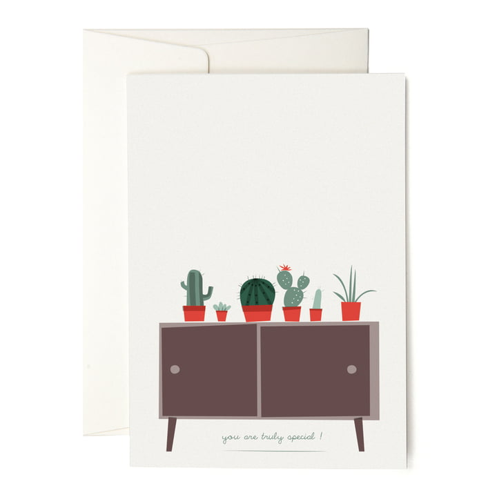 The pleased to meet - Cactus Collection Greeting Card