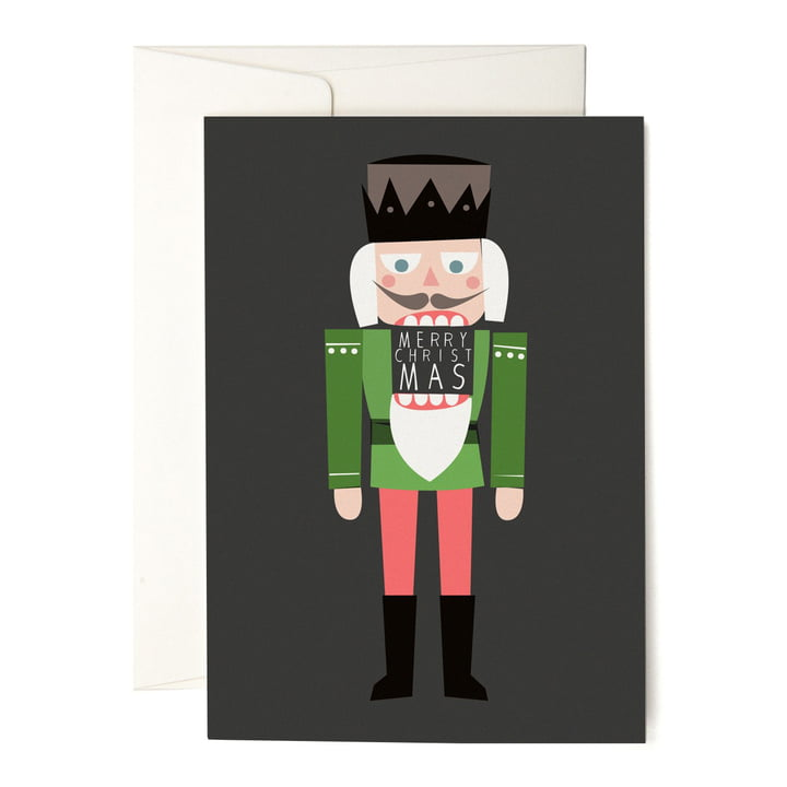 The pleased to meet - Nutcracker Greeting Card