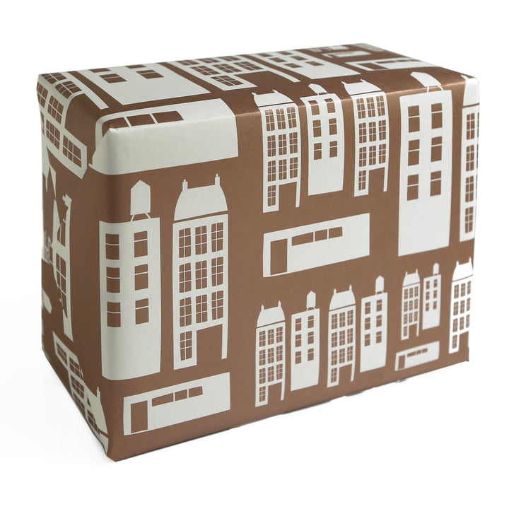 pleased to meet - Townhouses Wrapping Paper