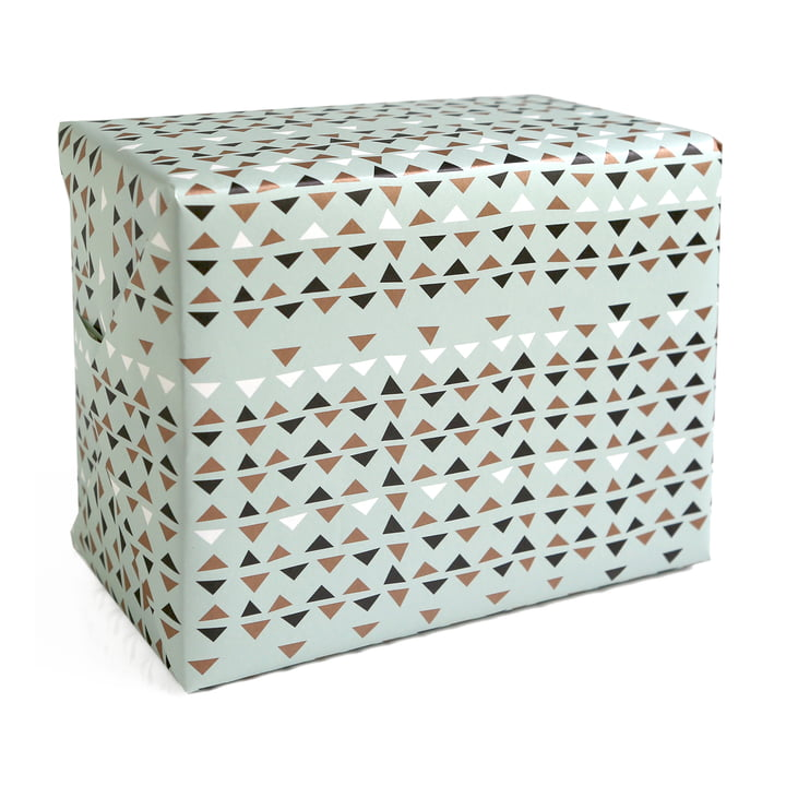 The pleased to meet - Wrapping Paper Ethnic in blue / multi-coloured
