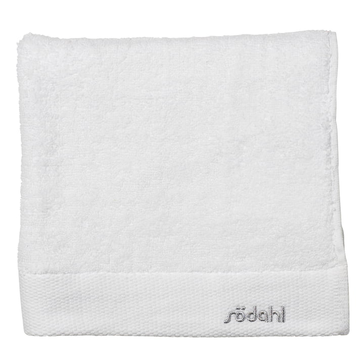 Comfort bath towel 70 x 140 cm by Södahl in white