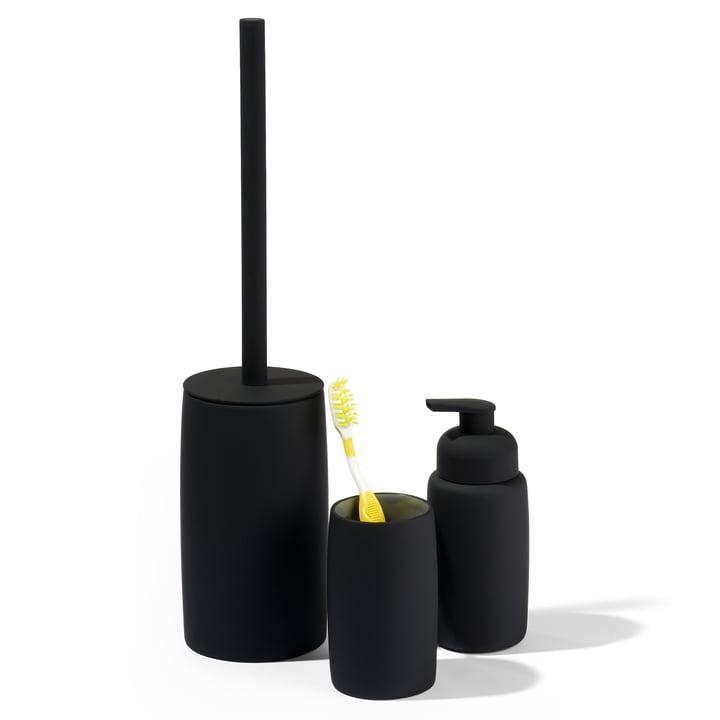 Soap dispenser, bathroom tumbler and toilet brush from Södahl