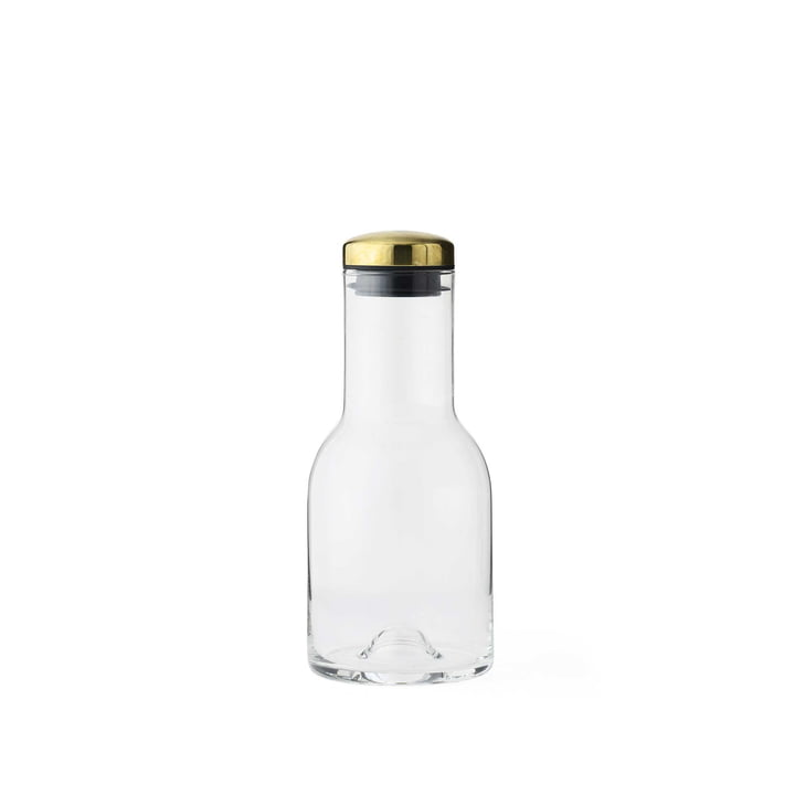 New Norm Water Bottle 0.5 l by Menu with Brass Lid